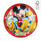 Rođendanski tanjuri Mickey Mouse 23 cm 8/1