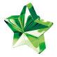 Uteg za balon zelena zvijezda 170g
