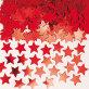 Konfeti crvene zvjezdice 14 g