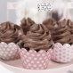 Košarice za cupcakes mix roza 6/1