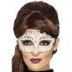 Maska za lice bijela čipka