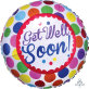 Folijski balon Get Well Soon