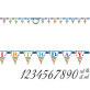 Jumbo rođendanski natpis Happy Birthday 3,2m