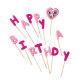 Rođendanske svjećice Happy Birthday Minnie