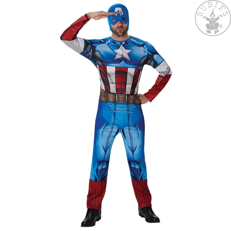Kostim za odrasle Kapetan Amerika