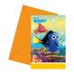 Pozivnice za rođendan Disney Dora 6/1