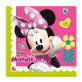 Salvete Disney Minnie dvoslojne 33x33 cm 20/1