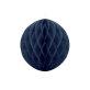 Honeycomb dekoracija tamno plava 30 cm