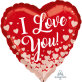 Folijski balon I Love You 43 cm
