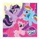 Salvete My Little Pony 33x33 cm 20/1