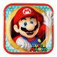 Papirnati tanjuri Super Mario 23x23 cm 8/1