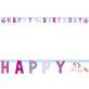 Rođendanski natpis Jednorog Party 1,85m