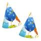 Rođendanske kapice Sparkling Balloons 6/1
