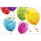 Plastični stolnjak Sparkling Balloons 120x180 cm