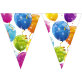 Rođendanske zastavice Sparkling Balloons 2,3m