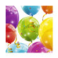 Salvete Sparkling Balloons dvoslojne 33x33 cm 20/1