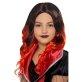 Dječja perika crno crvena