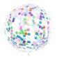 Lateks balon s konfetima 1m