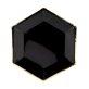 Papirnati tanjuri crni sa zlatnim rubom 6/1 23 cm