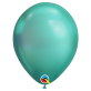 Chrome lateks balon zeleni