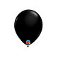 Mini lateks balon Onyx Black (13 cm)
