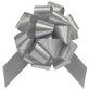 Mašna potezna mat srebrna 31mm