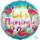 Folijski balon Let's Flamingle