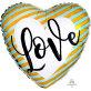 Folijski balon Love