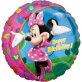 Folijski balon Minnie Happy Birthday