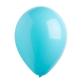 Lateks balon tirkizno plavi 28 cm
