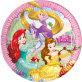 Papirnati tanjuri Disney Princess 23 cm 8/1