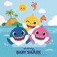 Salvete Baby Shark dvoslojne 33x33 cm 20/1