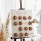 Donut Wall drveni 45x55cm