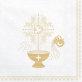 Salvete za krštenje Holy zlatne 33x33cm 20/1