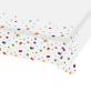 Papirnati stolnjak Confetti Birthday 120x180 cm