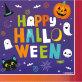 Salvete Halloween 33 x 33 cm 16/1