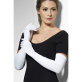 Duge bijele rukavice