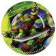 Papirnati tanjuri Ninja Turtles 23 cm 8/1