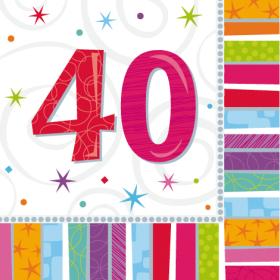 sretan 40 rođendan 40. rođendan   Rođendan   Odrasli sretan 40 rođendan