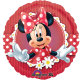 Folijski balon Minnie Polka Dot 43 cm