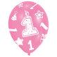 Lateks baloni 1. rođendan Pink