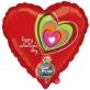 Balon Valentine's day - sa snimanjem poruke