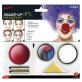 Klaun make up set