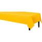 Plastični stolnjak žuti 137x274 cm