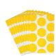 Papirnate vrećice za slatkiše žute točkice 10/1
