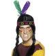 Indijanska traka s perom