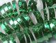 Spiralne trake sa šljokicama zelene