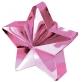 Uteg za balon roza zvijezda