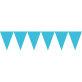 Zastavice tirkizno plave 4.5 m