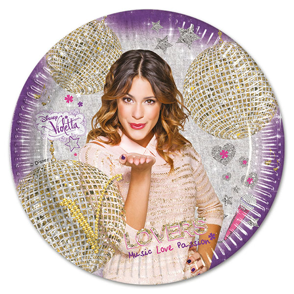tanjuri za rođendan Violetta   Rođendan   Djevojčice tanjuri za rođendan